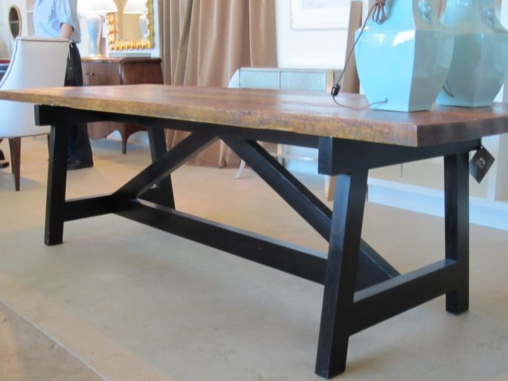 Diy kitchen table building furniture frames pinterest - Building kitchen table ...