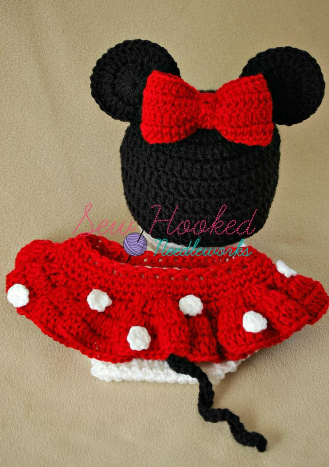Free Crochet Pattern For Mickey Mouse Hat And Diaper Cover : Pin by Jessica Wirkkala on crochet patterns i love Pinterest