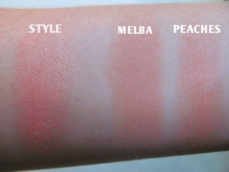 MAC Melba vs. Peaches vs. Style