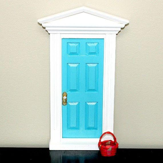 Diy kit fairy door unfinished for Homemade elf door