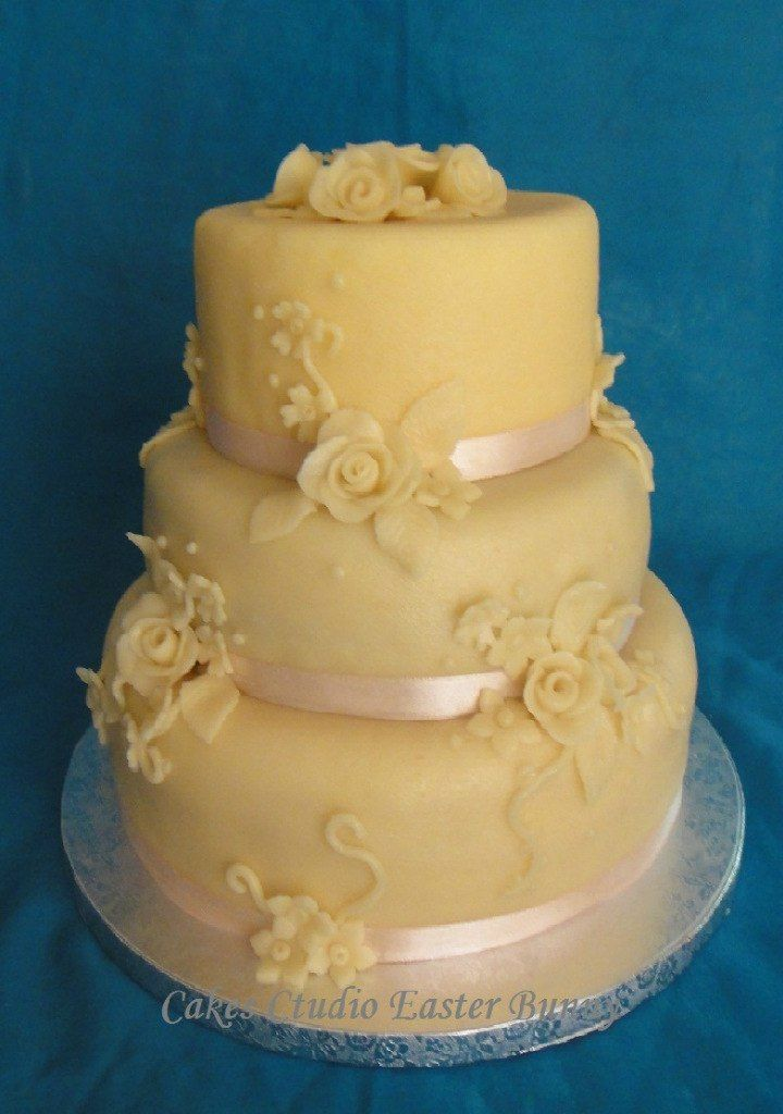 Marzipan Wedding Cake T P Rty Pinterest
