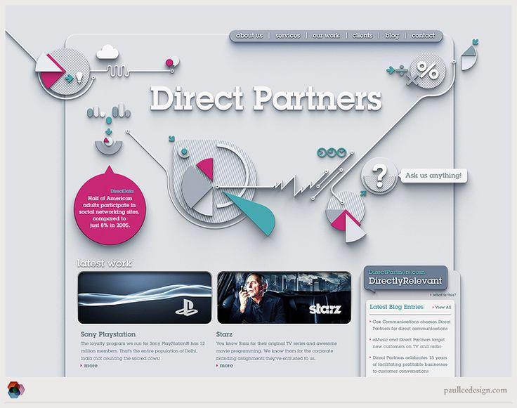 Paul Lee - Direct Partners Rebrand Website