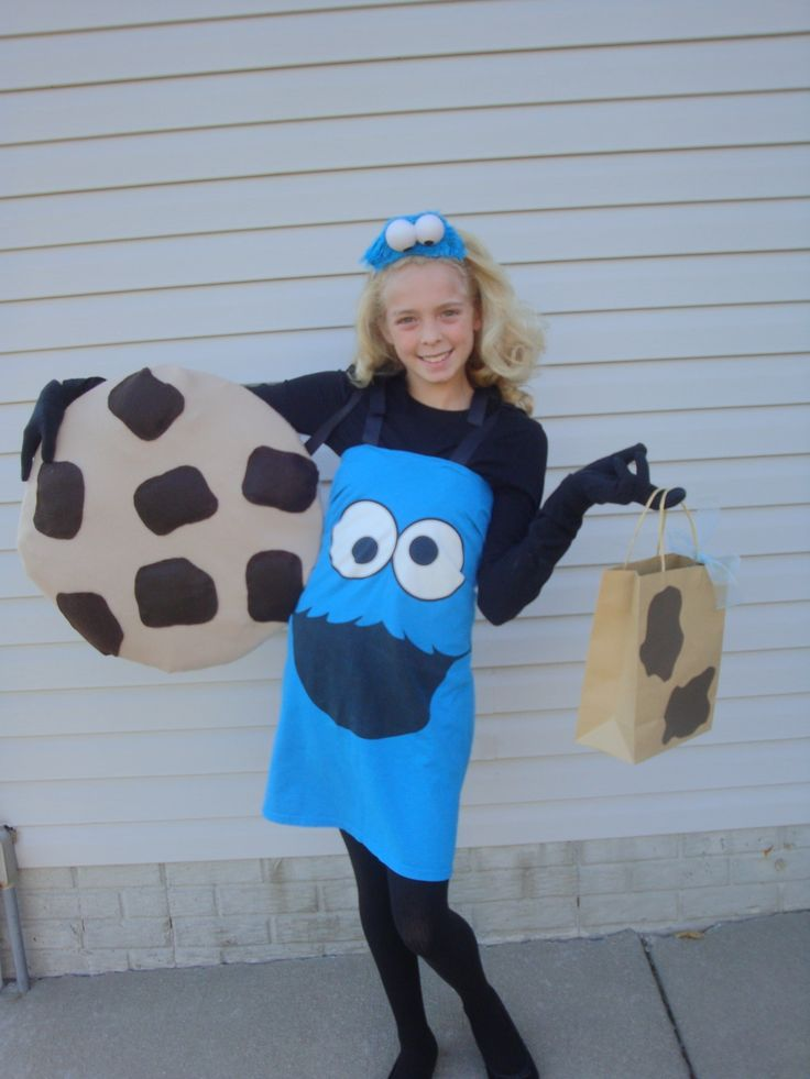 How to Make a Cookie Monster Costume for Halloween Homemade Cookie Monster Halloween Costume