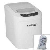 Portable Countertop Ice Maker - White Ice Makers. Pinterest