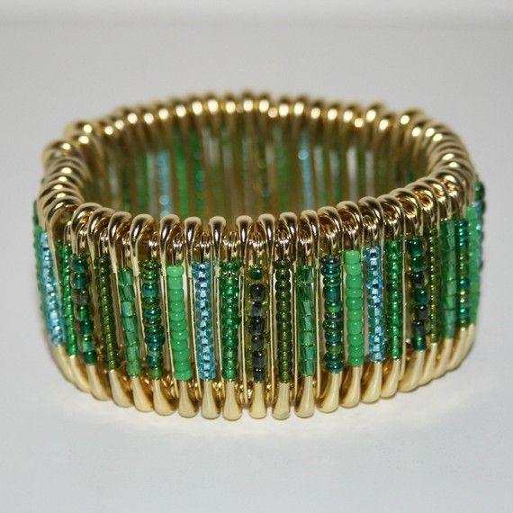 Safety Pins Bracelets