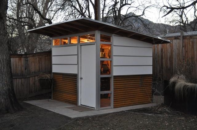 Modern shed assembly