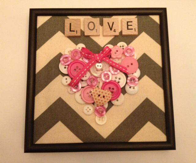 Heart Button Craft! http://www.unitednow.com...