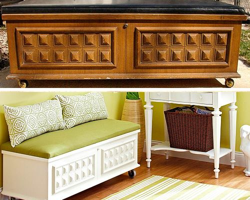 Furniture Makeovers Before And After Before After
