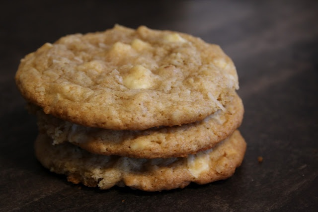 White Chocolate Chunk Cookies | A Balanced Diet is a Cookie in Each H ...