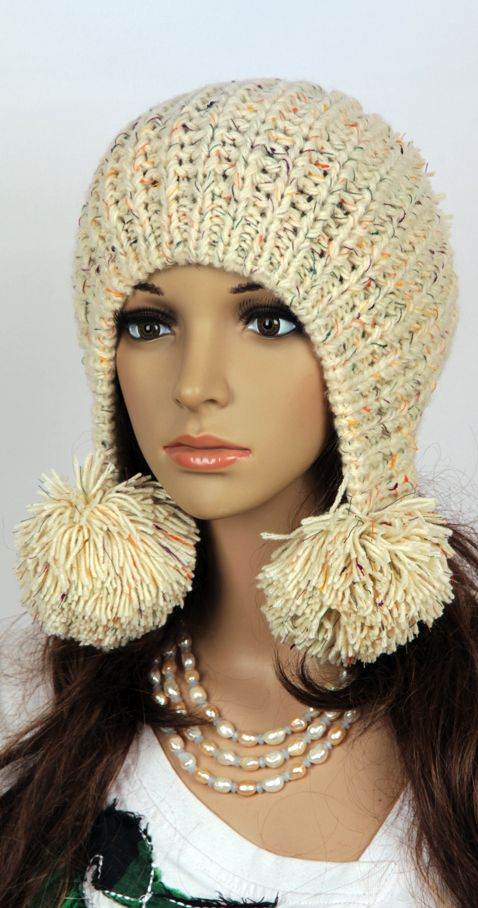 Knitting With Crochet : Slouchy hat - Crochet hat Crocheting Pinterest