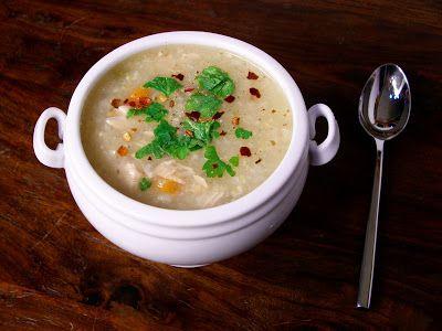 slow cooker lemon chicken amp brown rice soup recipe