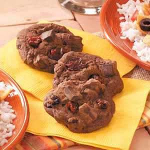 Cherry Chocolate Chunk Cookies | Recipe