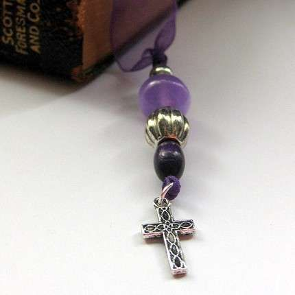 how to make ribbon bookmarks for bibles