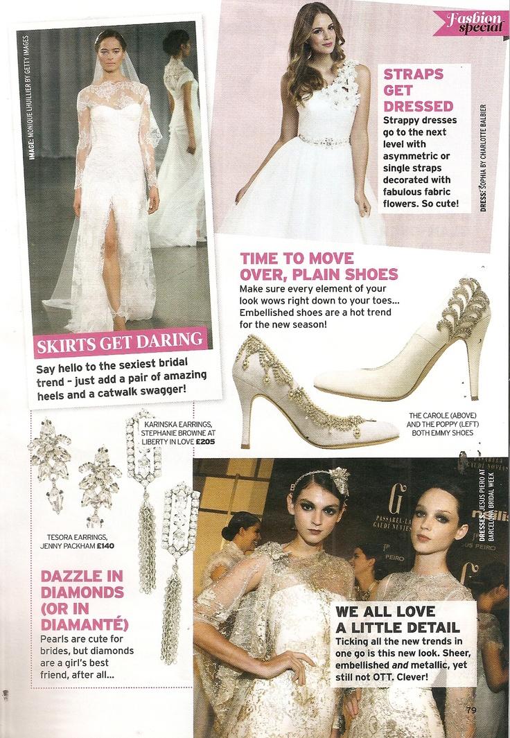 perfect wedding magazine fashion special