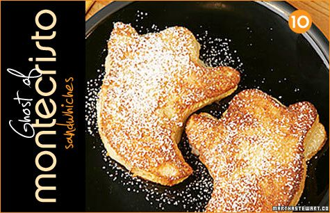 This tasty-looking Ghost of Montecristo recipe from Martha Stewart ...