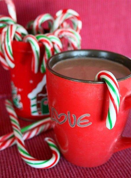 Vegan peppermint hot chocolate | sweets | Pinterest