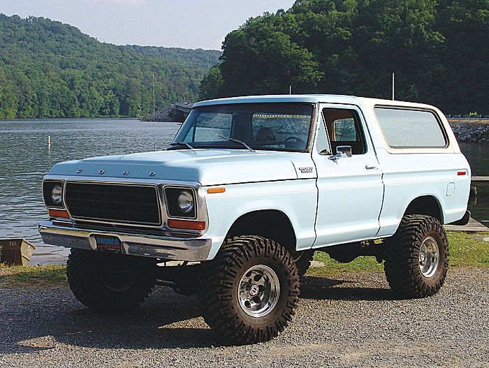 Ford Bronco 78 79 Broncos Excursions Pinterest