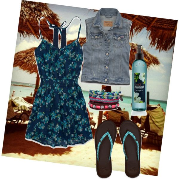 Hollister by awesum1 on Polyvore awesome first day of school outfit