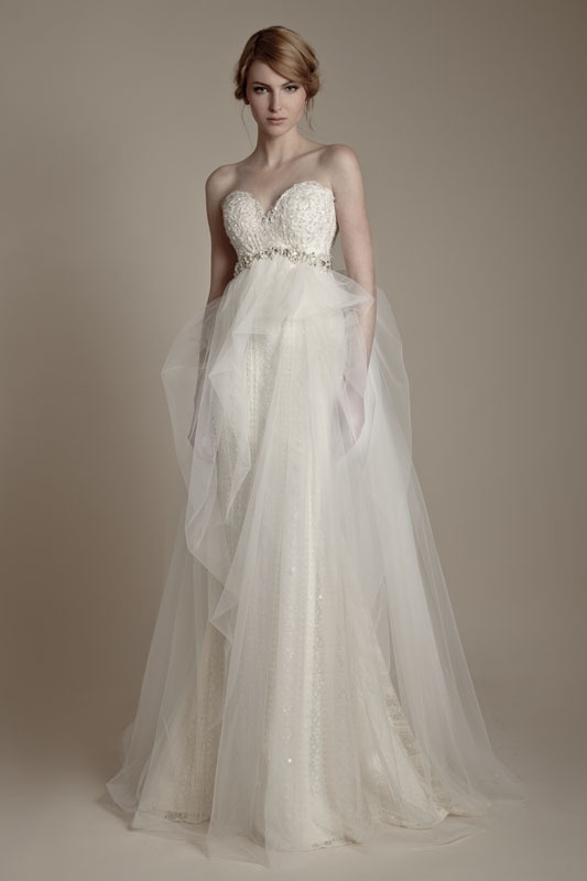 A fairy tale wedding dress collection inspired by russian for Fairy inspired wedding dresses