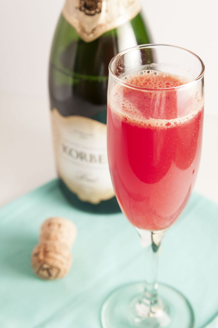YOU GUYS! Let's make Blood Orange Mimosas a thing! Not only are they ...
