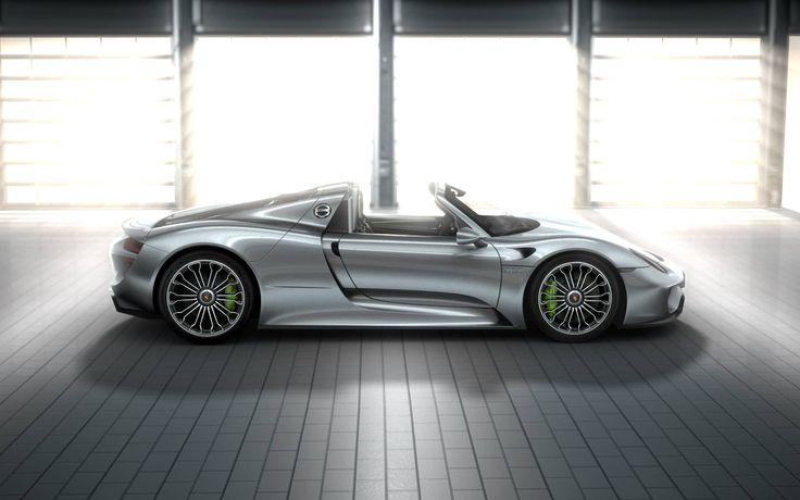 porsche 918 spyder racing silver porsche cars pinterest. Black Bedroom Furniture Sets. Home Design Ideas