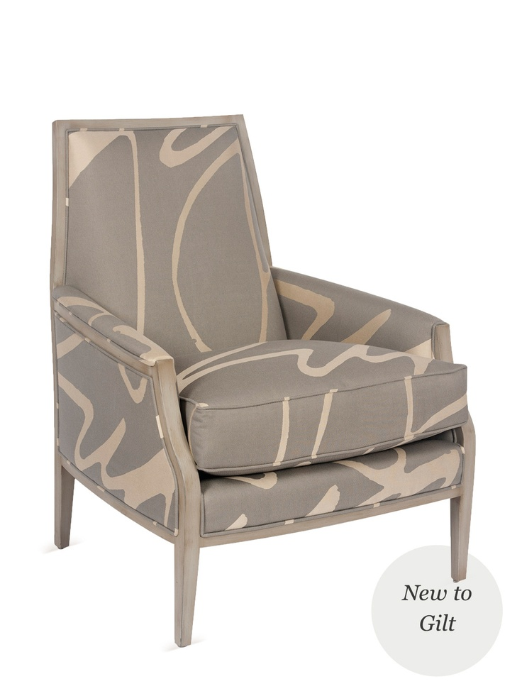 bergen chair upholstered wood accent chair seat height