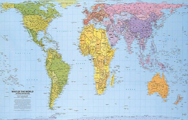 Real MAP of the world maPs Pinterest