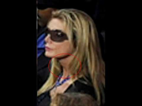 Image result for was the blonde female at michael jackson funeral him?