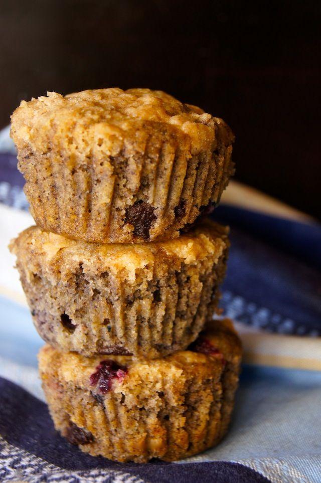 Gluten-Free Blue Corn Blueberry Muffin Recipe