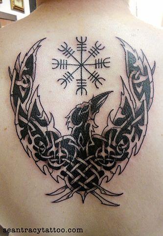 Norse raven | Mehndi and Ink Art | Pinterest