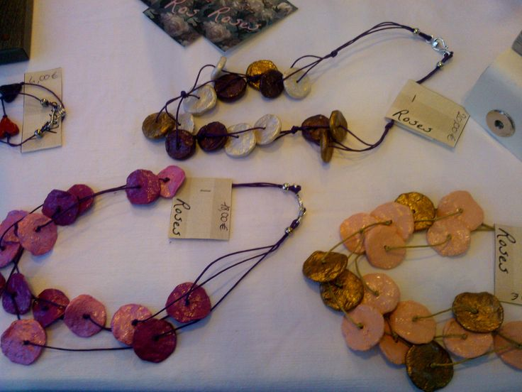 My booth paper mache jewelry paper mach pinterest for How to make paper mache jewelry