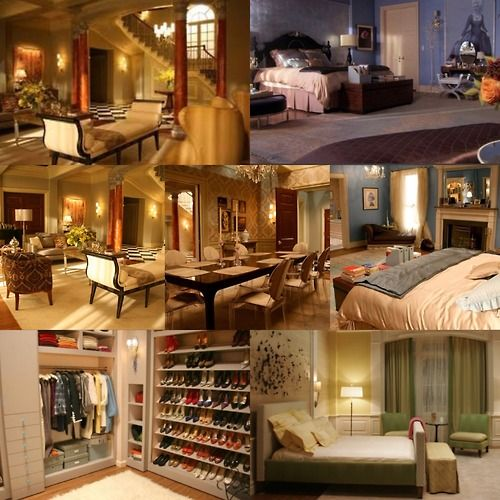 blair waldorf my dream home pinterest