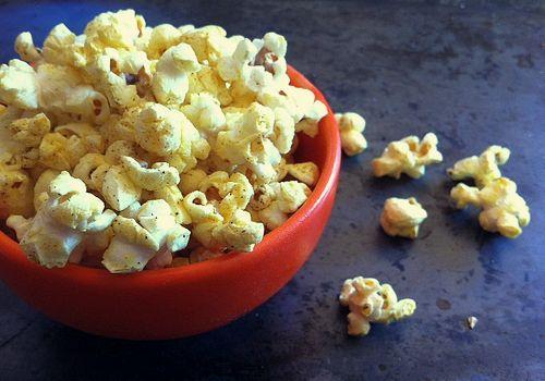 Curry Popcorn | Popcorn | Pinterest