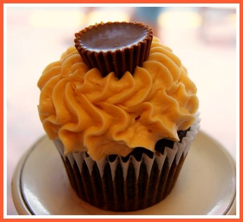 Chocolate Coffee Cupcakes with Peanut Butter frosting