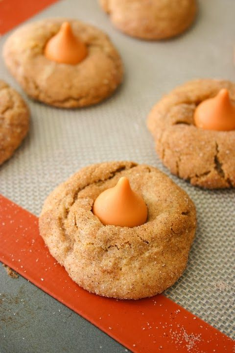 Pumpkin Spice Kiss Gingerdoodle Blossoms Recipe
