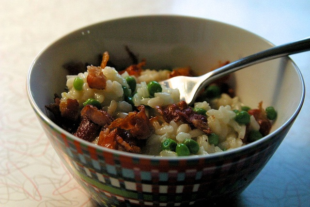 Pea and Bacon Risotto by Butter and Onions, via Flickr. Made this on 9 ...