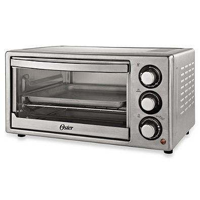 Convection Countertop Oven Stainless Steel : Oster? Brushed Stainless Steel Convection Countertop Oven ...