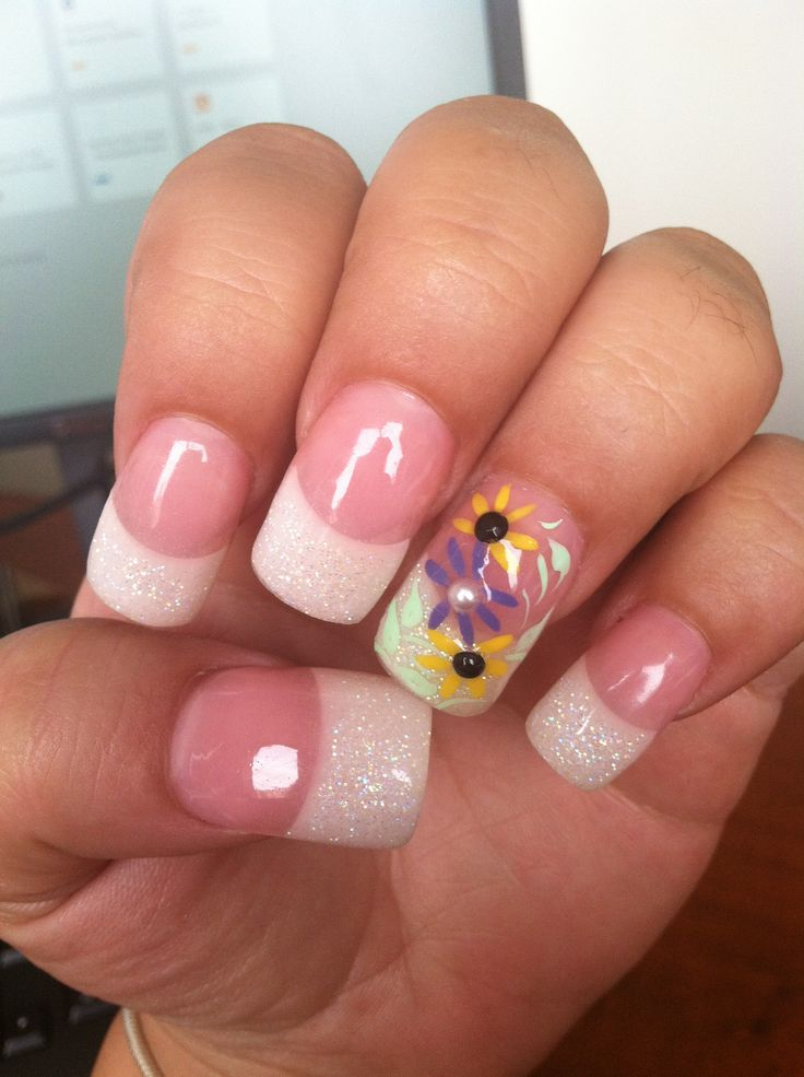 Daisy Nail Designs Pictures to Pin on Pinterest - PinsDaddy