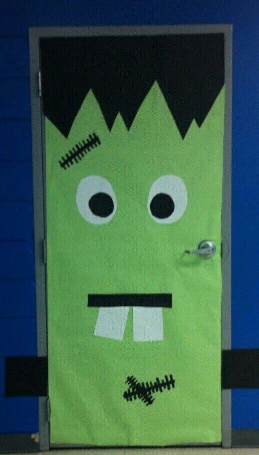 Halloween  bulletin boards  Pinterest ~ 153254_Halloween Door Ideas School