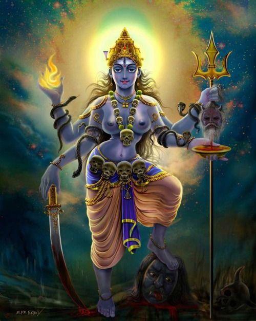 Kali the goddess gentle mother fierce warrior o kali my mother