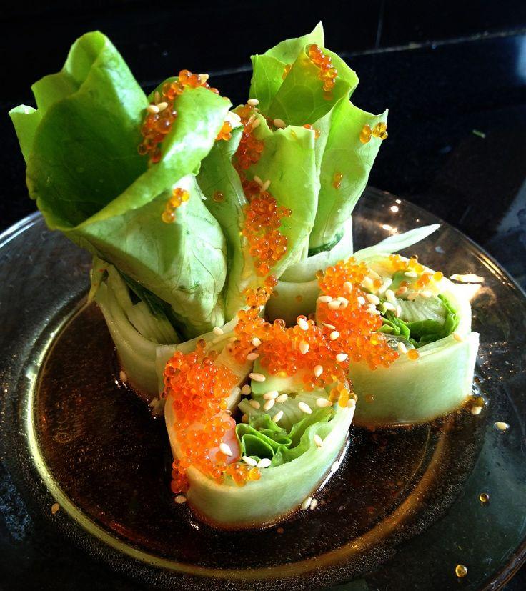 Veggie sushi rolls | Vegetarian food | Pinterest