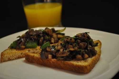 Mushrooms on Toast – Savory Breakfast Recipe | Recipes - Will get to ...