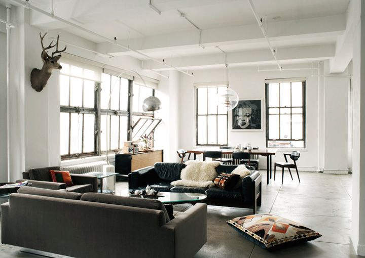 open space living area / ngoc minh ngo