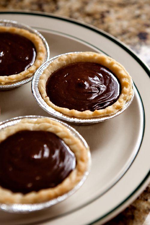 Mini Chocolate Pies | Favorite Recipes | Pinterest