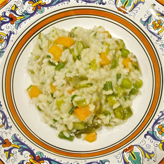 Risotto Primavera - Springtime Risotto: lovely seasonal vegetables in ...