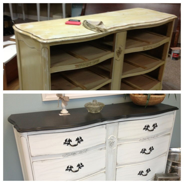 before after chalk paint just furniture