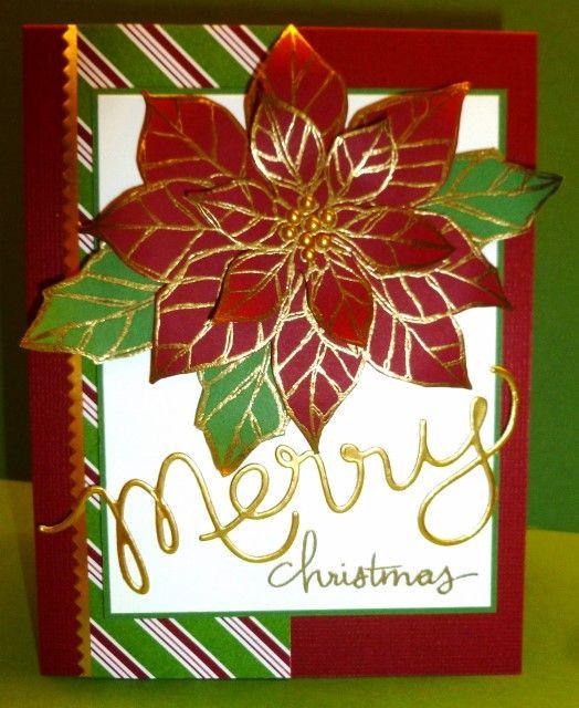 Christmas card. Stampin Up