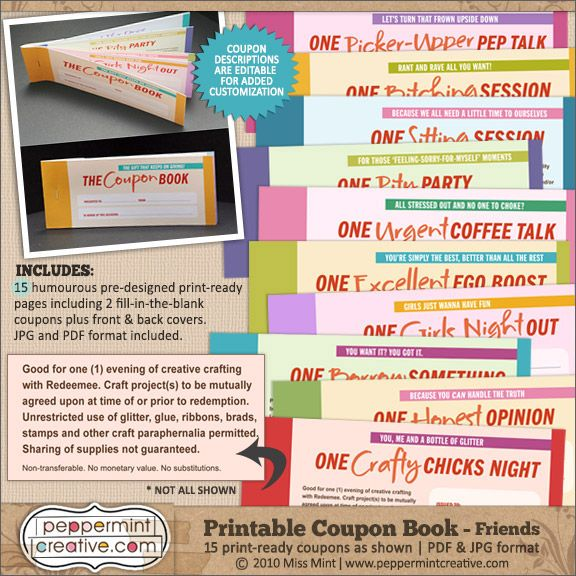 Friend BFF Coupon Book printable. Instant download by PrintsofLife. Visit Best Friend Gifts Your Best Friend Gifts For Friends Best Friends Back To School Supplies Coupon Books Innovative Ideas Book Gifts Holiday Gift Guide. from final-remark.ml Kim Santoscoy.