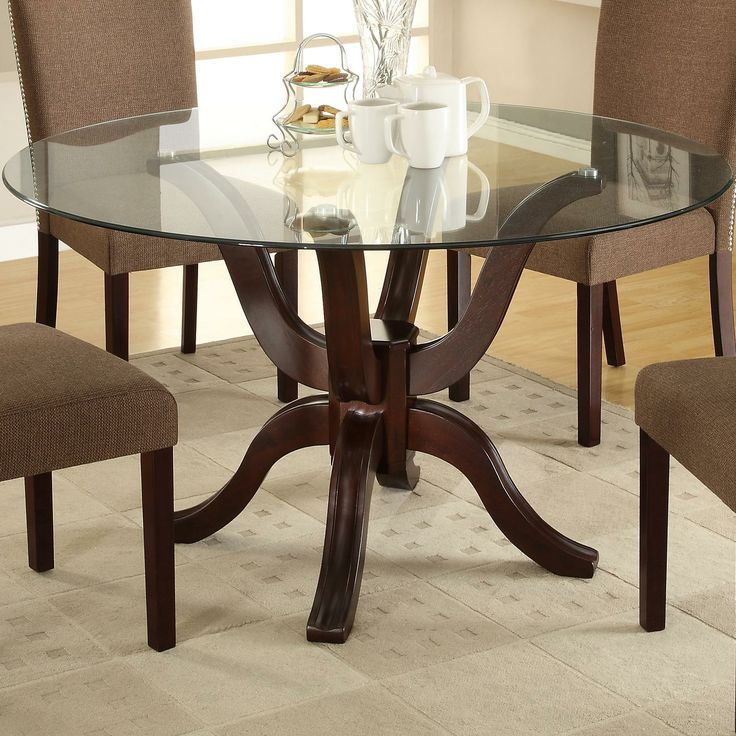 Medford Round Table By Crown Mark Home Pinterest