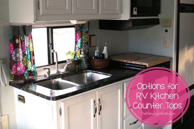 Kitchen Countertops The Options Cool RV Makeover Ideas Pinterest